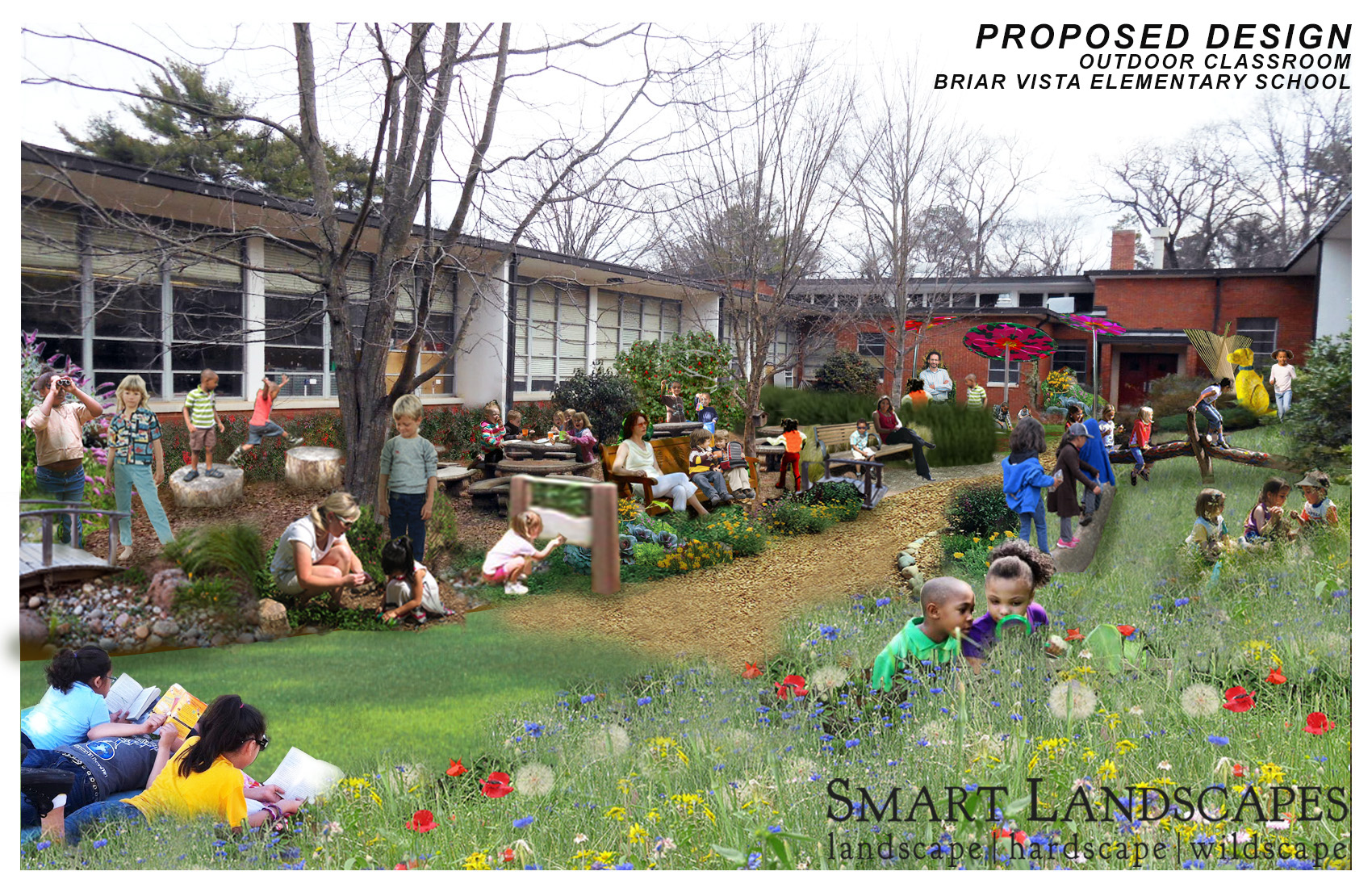 Outdoor Classroom Design ~ Smartlandscapes designworks llc briar vista outdoor
